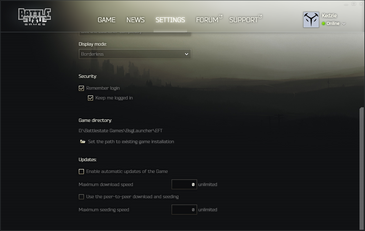 Graphics Optimization Guide - Escape From Tarkov - United We Stand