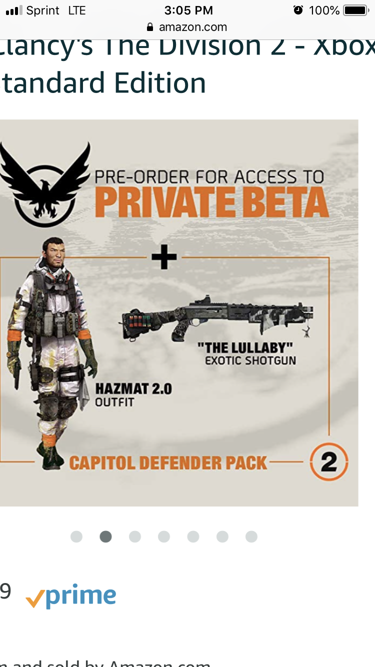 Division 2 preorders - The Division - United We Stand | Gaming Community