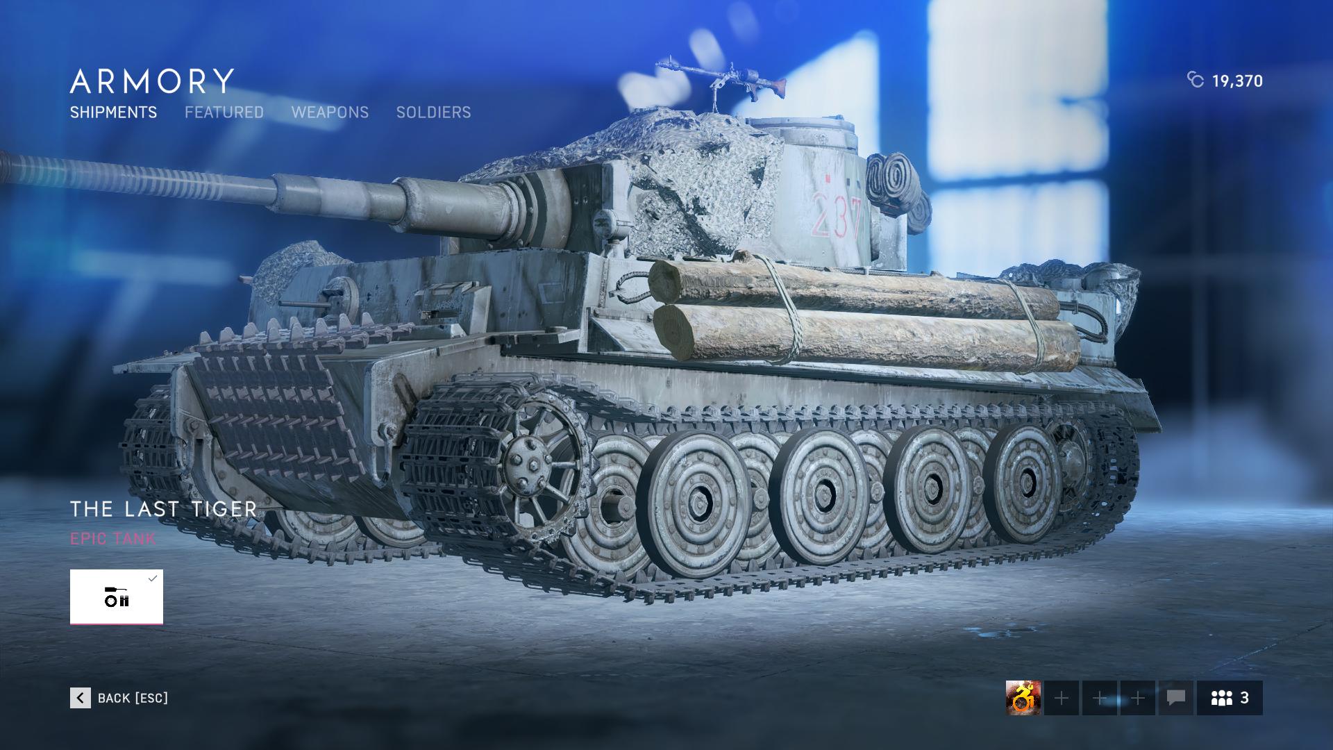 The Last Tiger War Stories Unlock - Battlefield V - United We Stand